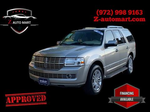 2008 Lincoln Navigator for sale at Z AUTO MART in Lewisville TX