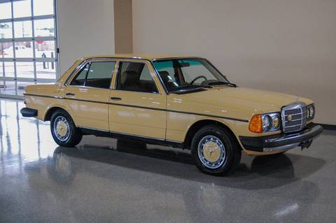 1981 Mercedes Benz 240 Class For Sale In Los Angeles Ca
