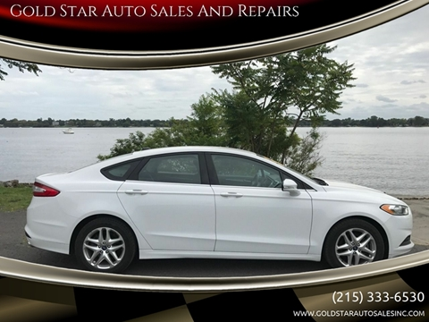 Gold Star Auto >> Ford Fusion For Sale In Philadelphia Pa Gold Star Auto