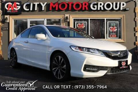 2016 Honda Accord for sale in Wanaque, NJ