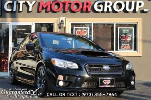 2016 Subaru WRX for sale at City Motor Group, Inc. in Wanaque NJ