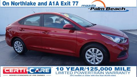 2018 Hyundai Accent for sale in North Palm Beach, FL