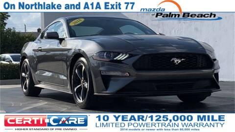 2018 Ford Mustang for sale in North Palm Beach, FL