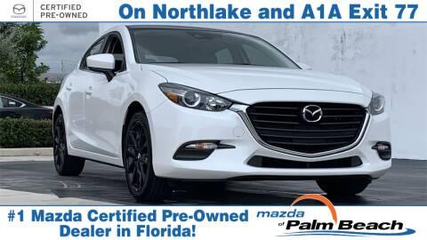Florida Mazda Dealers >> 2017 Mazda Mazda3 For Sale In North Palm Beach Fl