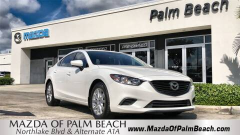 2015 Mazda MAZDA6 i Sport for sale at MAZDA OF PALM BEACH in North Palm Beach FL