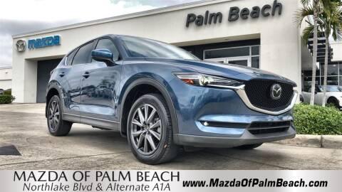 2017 Mazda CX-5 Grand Touring for sale at MAZDA OF PALM BEACH in North Palm Beach FL