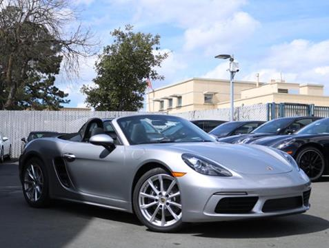 2019 Porsche 718 Boxster for sale in Walnut Creek, CA