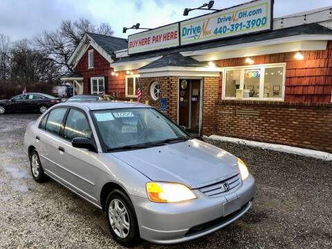 2001 Honda Civic for sale in Madison, OH
