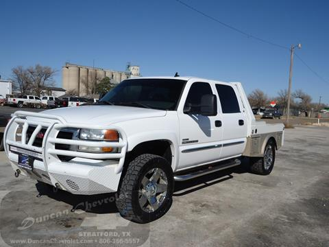 2006 GMC Sierra 2500HD for sale in Borger, TX