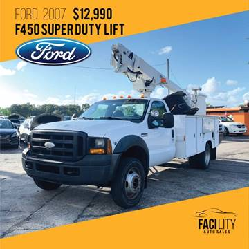 2007 Ford F-450 Super Duty for sale in Orlando, FL