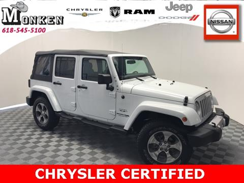2018 Jeep Wrangler Unlimited for sale in Centralia, IL