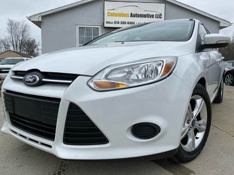 2013 Ford Focus for sale at COLUMBUS AUTOMOTIVE in Reynoldsburg OH