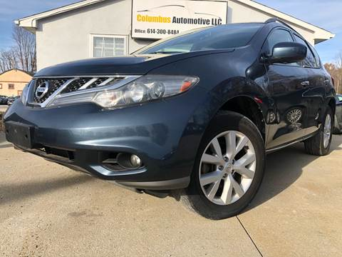 2012 Nissan Murano for sale at COLUMBUS AUTOMOTIVE in Reynoldsburg OH