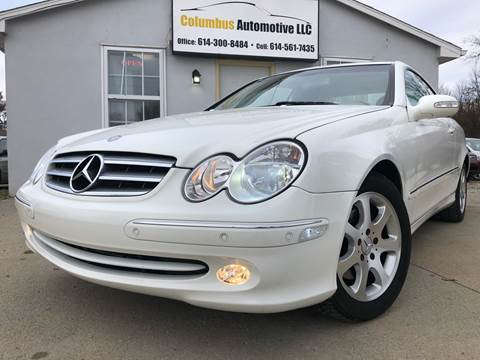 2004 Mercedes-Benz CLK for sale at COLUMBUS AUTOMOTIVE in Reynoldsburg OH