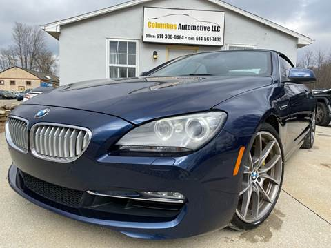 2012 BMW 6 Series for sale at COLUMBUS AUTOMOTIVE in Reynoldsburg OH