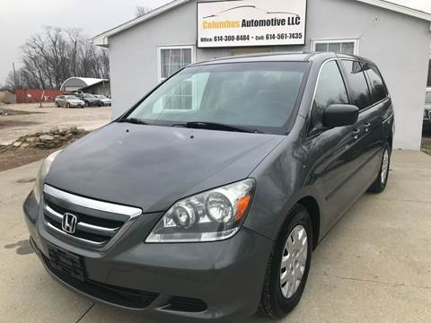 2007 Honda Odyssey for sale at COLUMBUS AUTOMOTIVE in Reynoldsburg OH