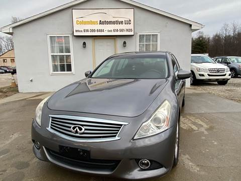 2010 Infiniti G37 Sedan for sale at COLUMBUS AUTOMOTIVE in Reynoldsburg OH