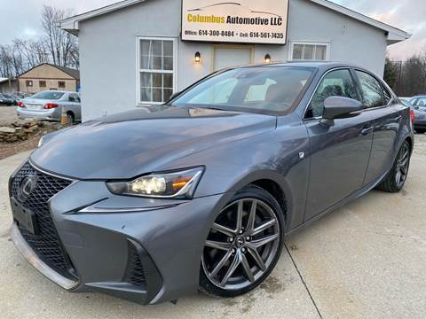 2017 Lexus IS 300 for sale at COLUMBUS AUTOMOTIVE in Reynoldsburg OH