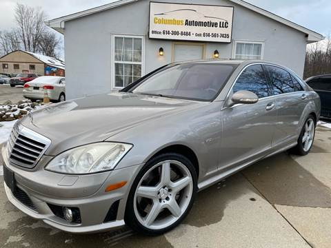 2007 Mercedes-Benz S-Class for sale at COLUMBUS AUTOMOTIVE in Reynoldsburg OH