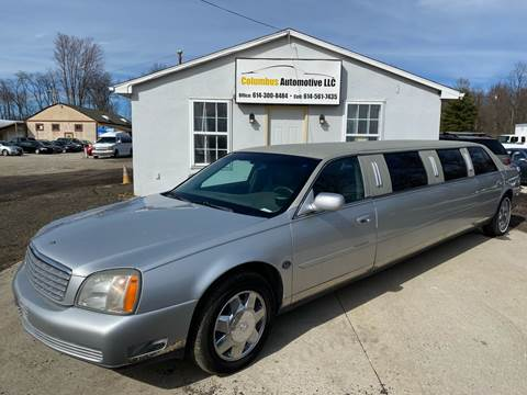 2002 Cadillac DeVille for sale at COLUMBUS AUTOMOTIVE in Reynoldsburg OH