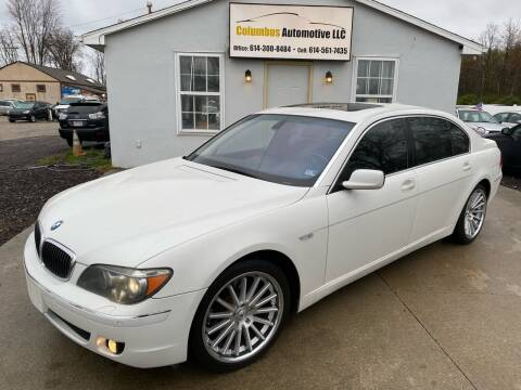2006 BMW 7 Series for sale at COLUMBUS AUTOMOTIVE in Reynoldsburg OH