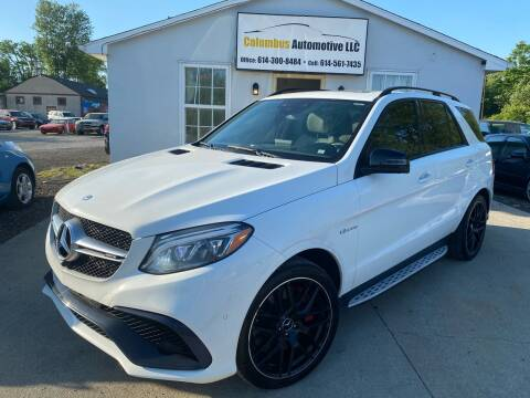 2016 Mercedes-Benz GLE for sale at COLUMBUS AUTOMOTIVE in Reynoldsburg OH