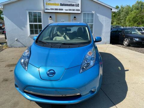 2012 Nissan LEAF for sale at COLUMBUS AUTOMOTIVE in Reynoldsburg OH
