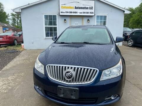 2010 Buick LaCrosse for sale at COLUMBUS AUTOMOTIVE in Reynoldsburg OH