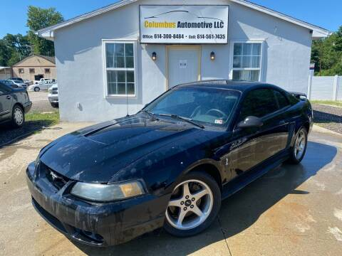 2001 Ford Mustang SVT Cobra for sale at COLUMBUS AUTOMOTIVE in Reynoldsburg OH