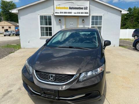 2013 Honda Civic for sale at COLUMBUS AUTOMOTIVE in Reynoldsburg OH