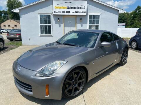 2008 Nissan 350Z for sale at COLUMBUS AUTOMOTIVE in Reynoldsburg OH