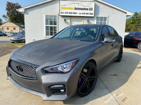 2014 Infiniti Q50 for sale at COLUMBUS AUTOMOTIVE in Reynoldsburg OH