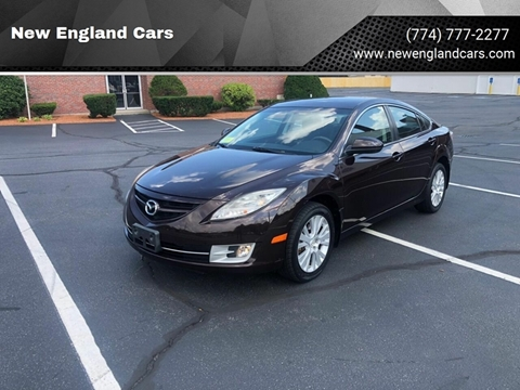 2010 Mazda MAZDA6 for sale at New England Cars in Attleboro MA