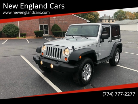 2011 Jeep Wrangler for sale in Attleboro, MA