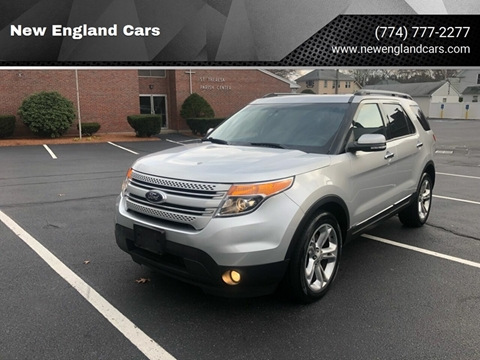 2013 Ford Explorer for sale at New England Cars in Attleboro MA