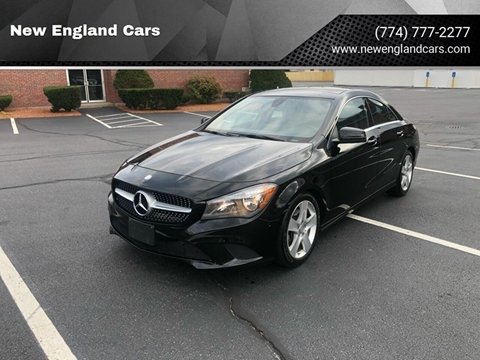 2015 Mercedes-Benz CLA for sale at New England Cars in Attleboro MA