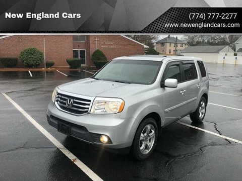 2012 Honda Pilot for sale at New England Cars in Attleboro MA