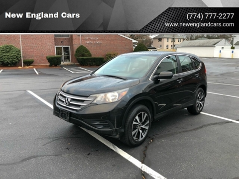 2014 Honda CR-V for sale at New England Cars in Attleboro MA