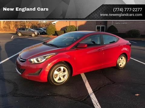 2014 Hyundai Elantra for sale in Attleboro, MA