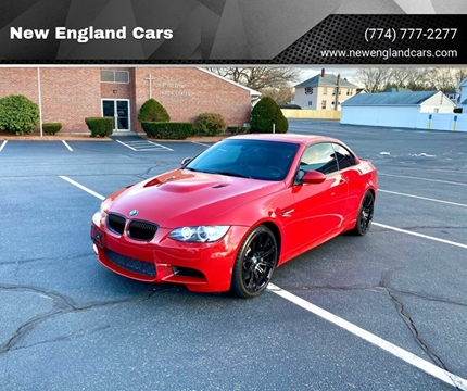 2011 BMW M3 for sale at New England Cars in Attleboro MA