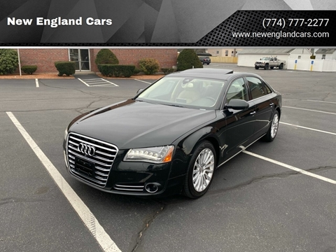 2013 Audi A8 L for sale at New England Cars in Attleboro MA