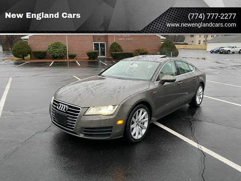 2012 Audi A7 for sale at New England Cars in Attleboro MA