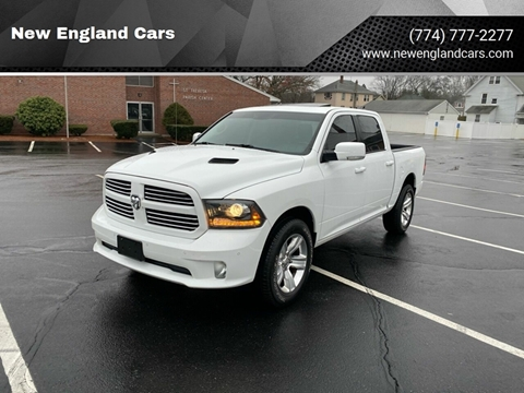 2015 RAM Ram Pickup 1500 for sale at New England Cars in Attleboro MA
