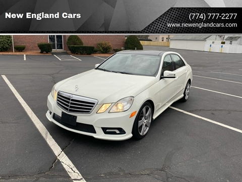 2011 Mercedes-Benz E-Class for sale at New England Cars in Attleboro MA