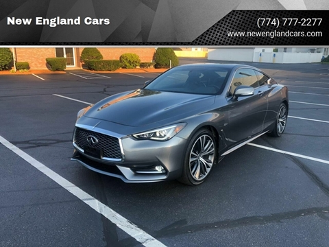 2018 Infiniti Q60 for sale at New England Cars in Attleboro MA