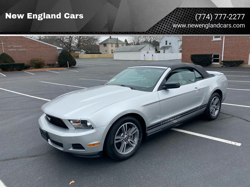 2010 Ford Mustang for sale at New England Cars in Attleboro MA