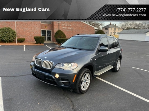 2012 BMW X5 for sale at New England Cars in Attleboro MA