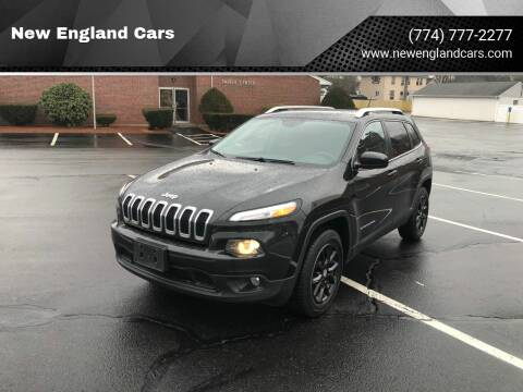 2015 Jeep Cherokee for sale at New England Cars in Attleboro MA
