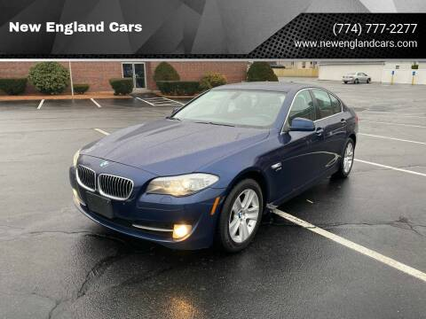 2012 BMW 5 Series for sale at New England Cars in Attleboro MA