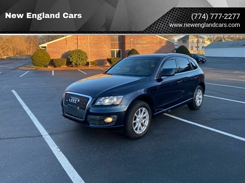 2011 Audi Q5 for sale at New England Cars in Attleboro MA